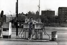 Age 21, Pumping Gas, by LeFRak City  Queens