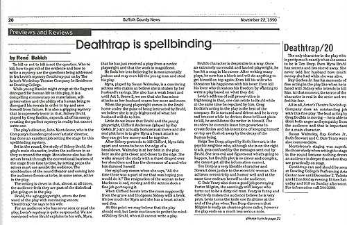 DeathTrap - Suffolk Country News